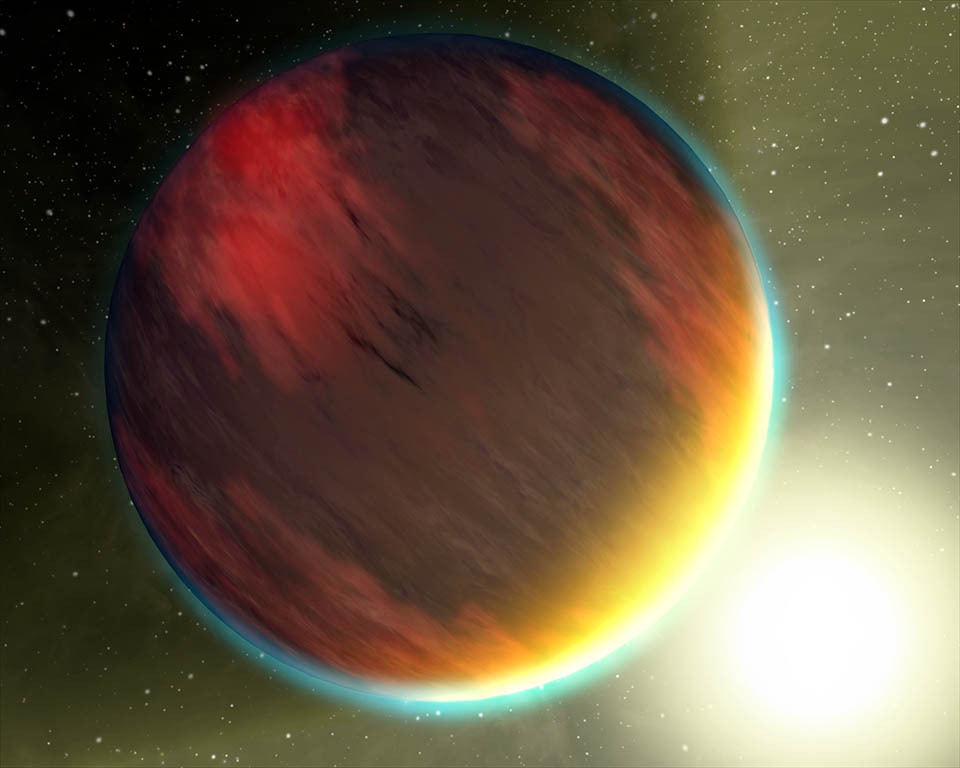 Hot, Dry and Cloudy Planet - NASA Spitzer Space Telescope