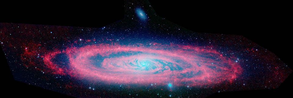 Andromeda nasa spitzer space telescope - Spitzer space telescope wallpaper ...