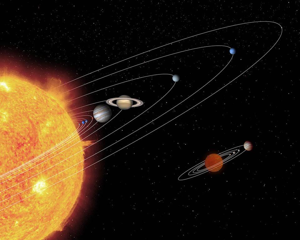 Mini me solar system nasa spitzer space telescope mini me solar system sciox Choice Image