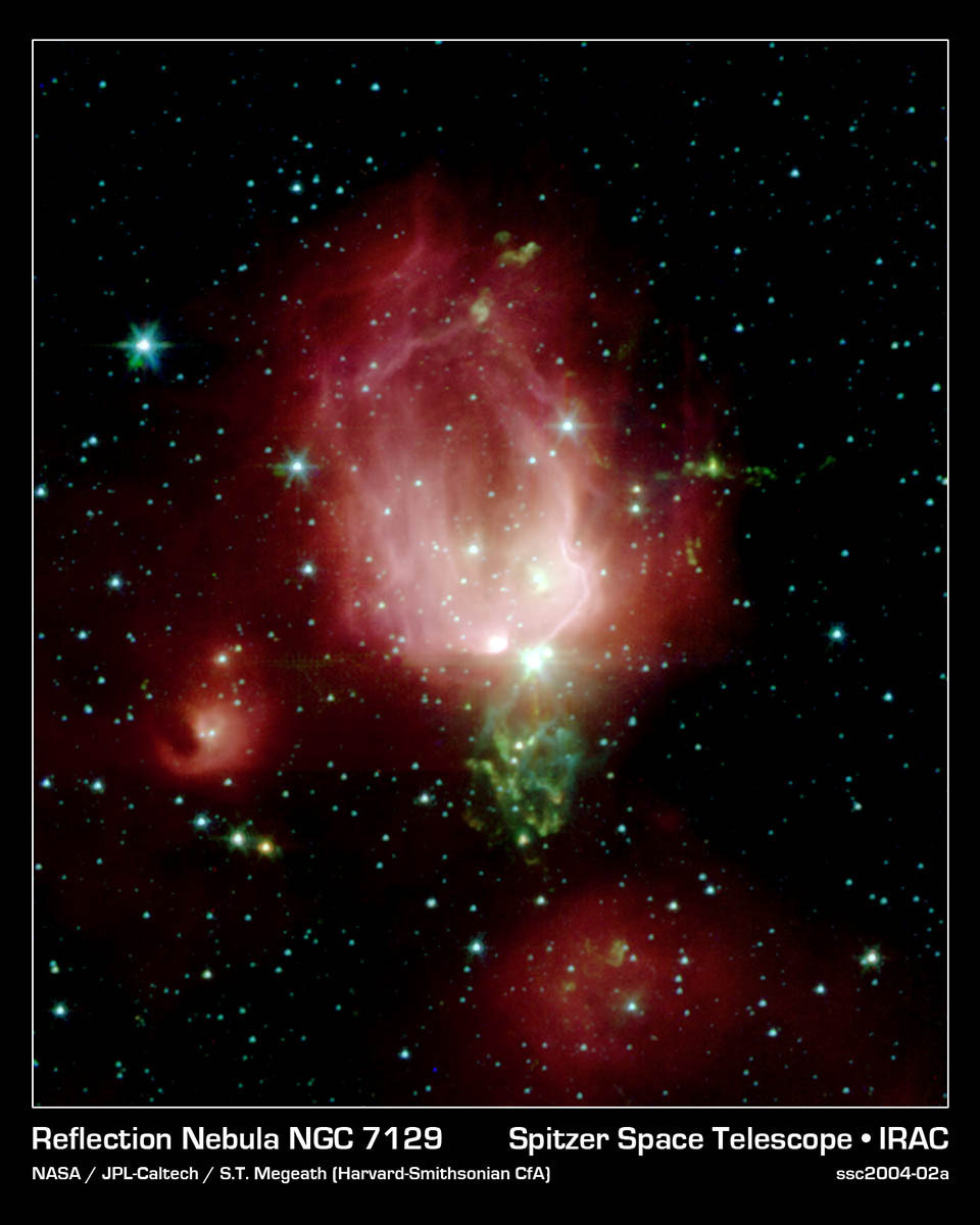 Rosebud Of A Reflection Nebula
