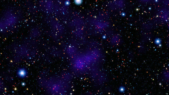 abb96b2d016fd Ancient City of Galaxies Looks Surprisingly Modern - NASA Spitzer ...