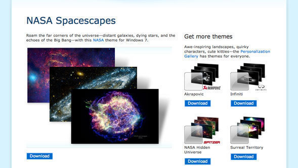 Planets Windows Theme Setup Free