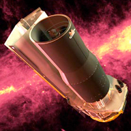 Artist concept of the Spitzer Space Telescope