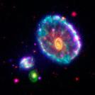 Cartwheel Galaxy Makes Waves