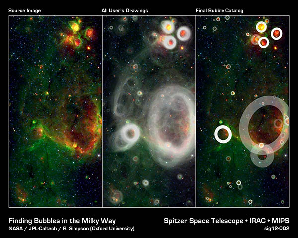 [Finding Bubbles in the Milky Way]
