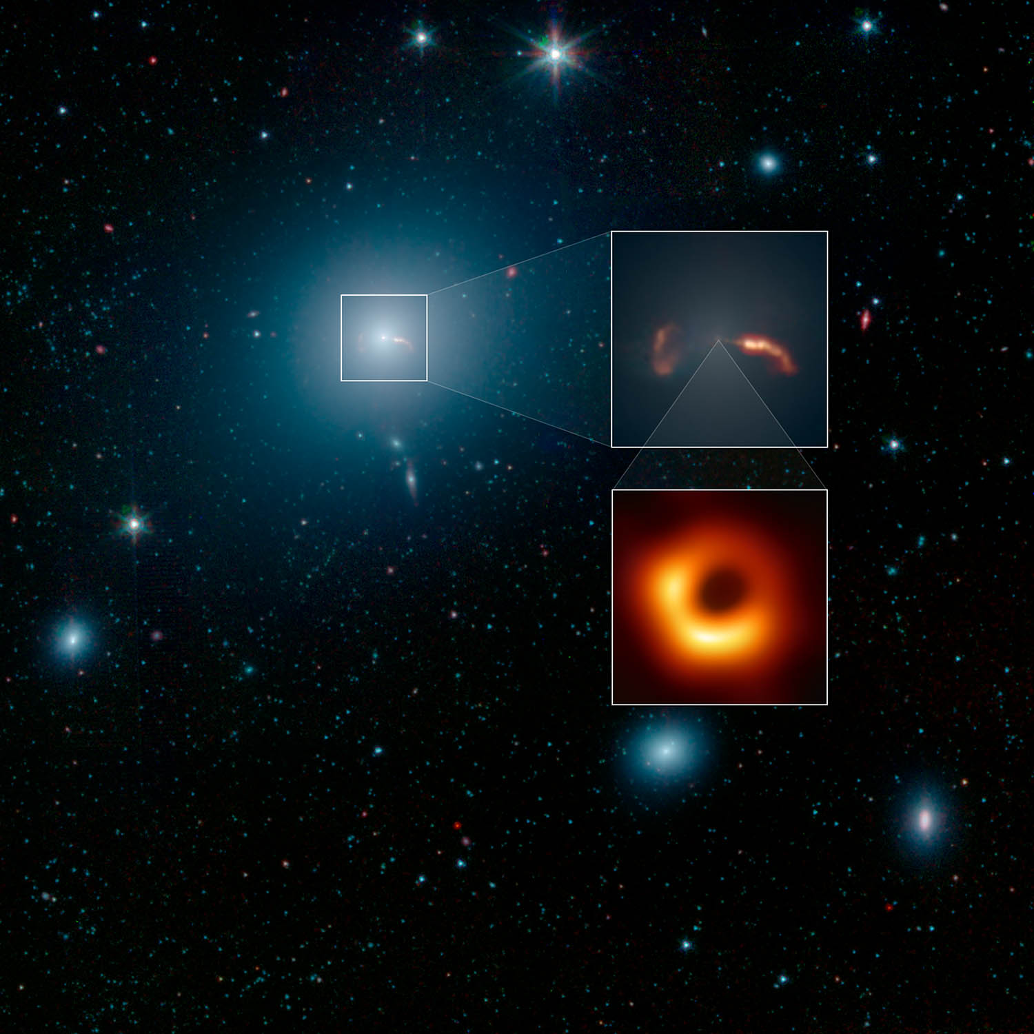 EHT: Astronomers Capture First Image of a Black Hole