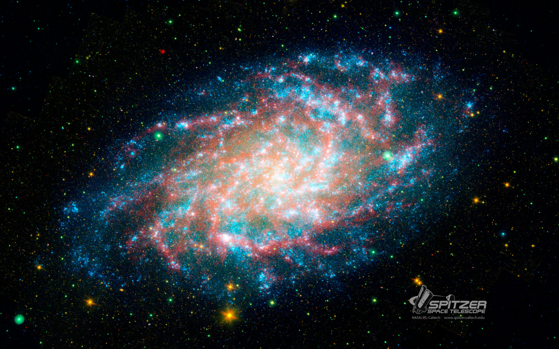 wallpapers - nasa spitzer space telescope