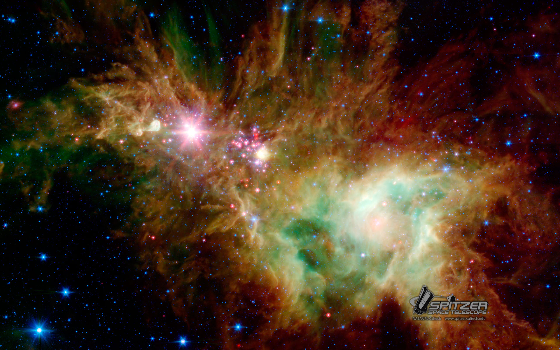 Wallpapers nasa spitzer space telescope - Spitzer space telescope wallpaper ...